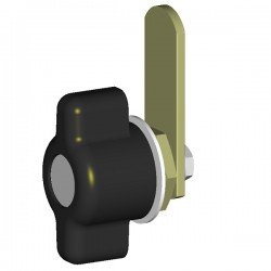 Knob P5AS without lock