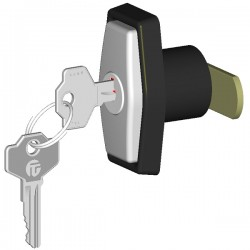 Pop-out handle P5P with lock