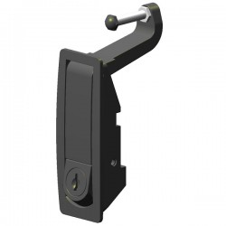 Handle with latching system...